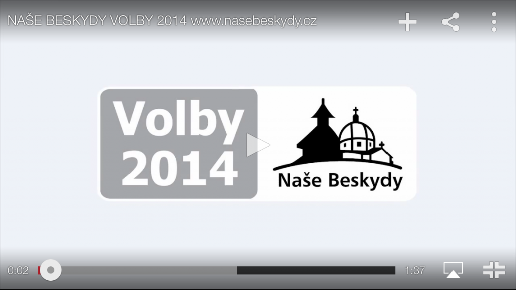 volby 2014 video